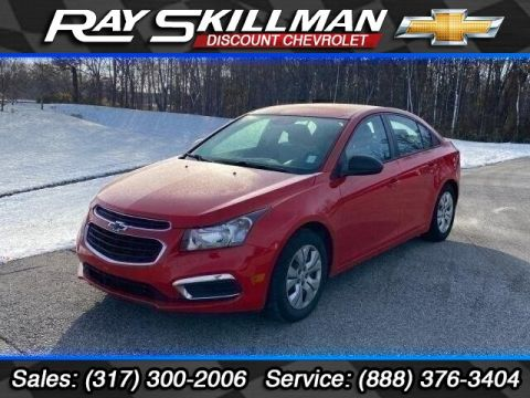 Pre-Owned 2015 Chevrolet Cruze LS Manual